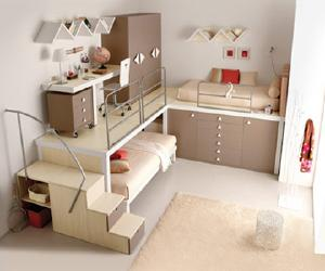 compact kids bedroom design Compact Kids Bedroom Design