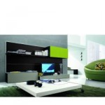 Contemporary Entertainment Center