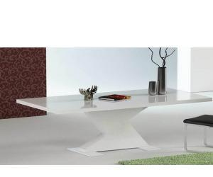 Bono Modern White Dining Table
