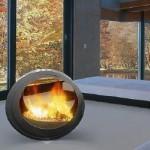 Arkiane Round Fireplace