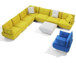 Modern and  Flexible Sofa