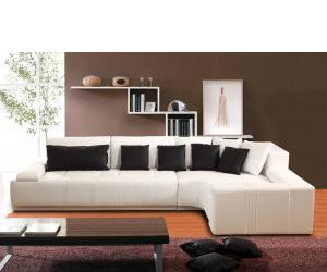 White Space Sectional Sofa