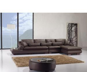 sofa6 Espresso Modern Sectional