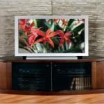 Corner TV Credenza