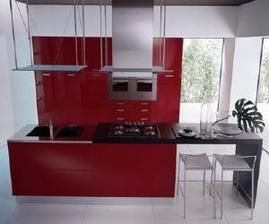 sweet kitchen Sweet Red Kitchen