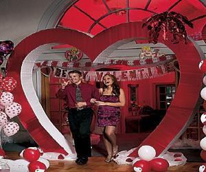 valentines heart entranceway Valentines Heart Entranceway