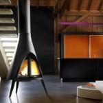 Tipi Wood Fireplace