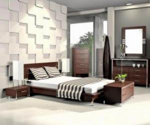 aria modern platform bed