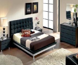 bed2 Toledo Black Bedroom Set
