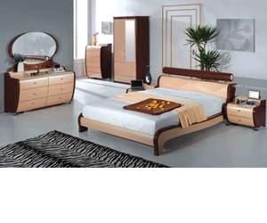 Modern Italian Bed Set