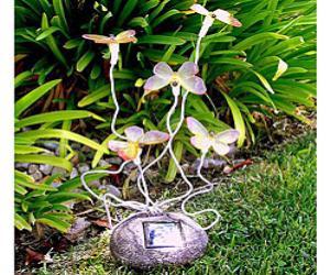 Butterflies Garden Solar Light