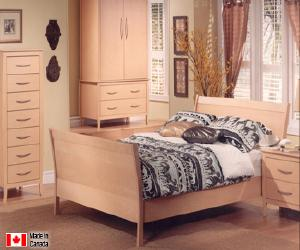 Classic Platform Bed Set
