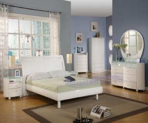 contemporary unique white bedroom set Contemporary Unique White Bedroom Set
