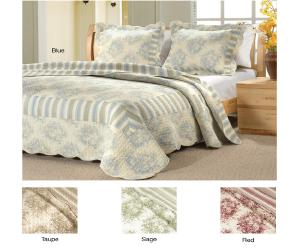 Country Stripe Bedding Set