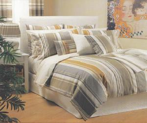 dusk stripe brown bedding Dusk Stripe Brown Bedding