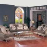 Elegant European Style Sofa Set