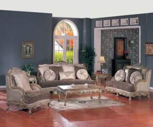 Elegant European Style Sofa Set