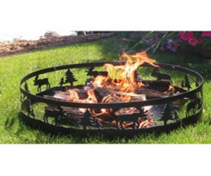 firepit Moose Campfire Ring
