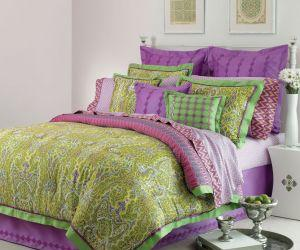 Grass Paisley Comforter Set