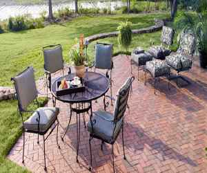 install a loose laid brick patio Install a Loose Laid Brick Patio