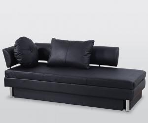 Leatherette Sofa with Storage