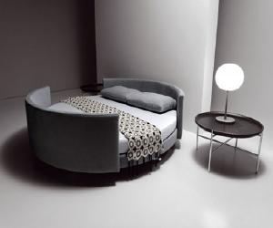 Modern Bed and Sofa