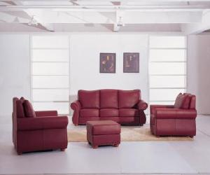Modern Sofa Loveseat Chair Ottoman Set