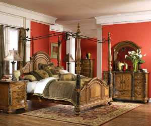 Classical and Luxurious Bedroom
