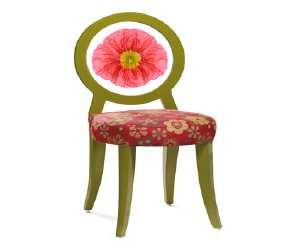 chair1 Floral Print Chair
