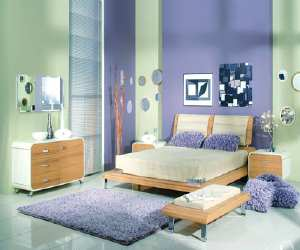 comfortable purple bedroom interior design Comfortable Purple Bedroom Interior Design