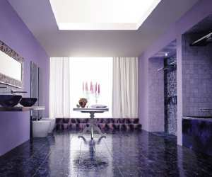 Cool Violet Interior Design