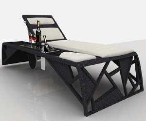 lounger Frame Luxury Sun Lounger