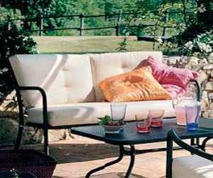Metal Mesh Athena Outdoor Sofa