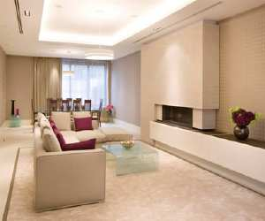 modern diining room style Modern Living Room Style
