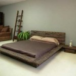 Modern Low Profile Platform Bed