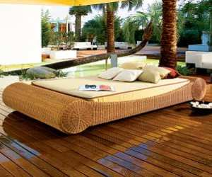 outdoor wicker daybed Outdoor Wicker Daybed
