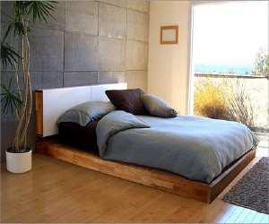 bedroom1 Tropical Wood Bedroom
