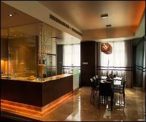 elegant and comfortable dining room Elegant and Comfortable Dining Room