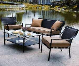 hometrends patio conversation set Hometrends Patio Conversation Set