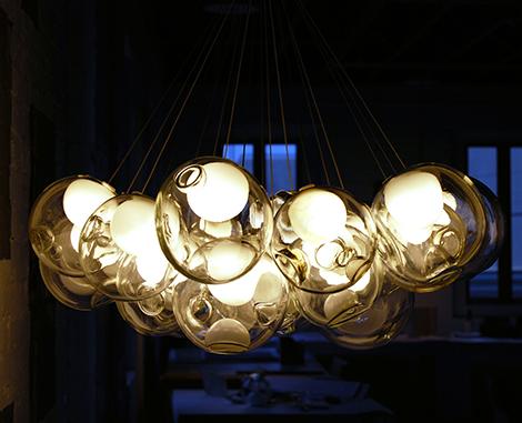 lighting Bocci Glass Pendant