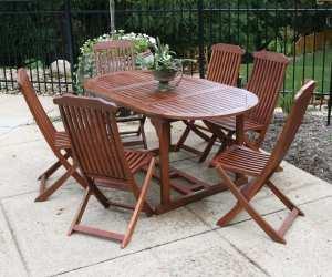 oval outdoor dining table Oval Outdoor Dining Table