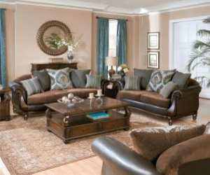 rolled arm traditional sofa set Rolled Arm Traditional Sofa Set
