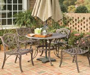 round outdoor dining set Round Outdoor Dining Set