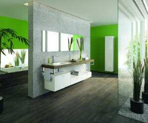 vanity1 Green Modern Bathroom Idea