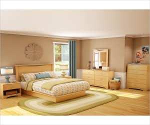 wood panel headboard bedroom set Wood Panel Headboard Bedroom Set