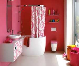 bathroom1 Mimo Pink Bathroom