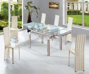 dining Modern Dining Table   Rain Illusion