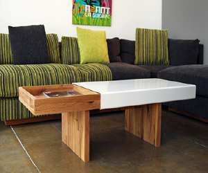 furniture English Walnut Coffee Table