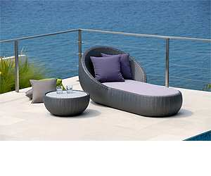 outdoors Circle Outdoor Chaise Lounge