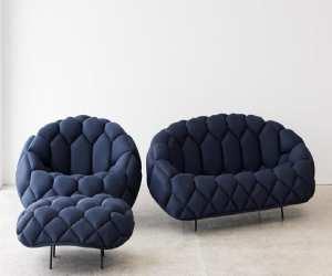 sofa7 Fashionable Blue Sofa